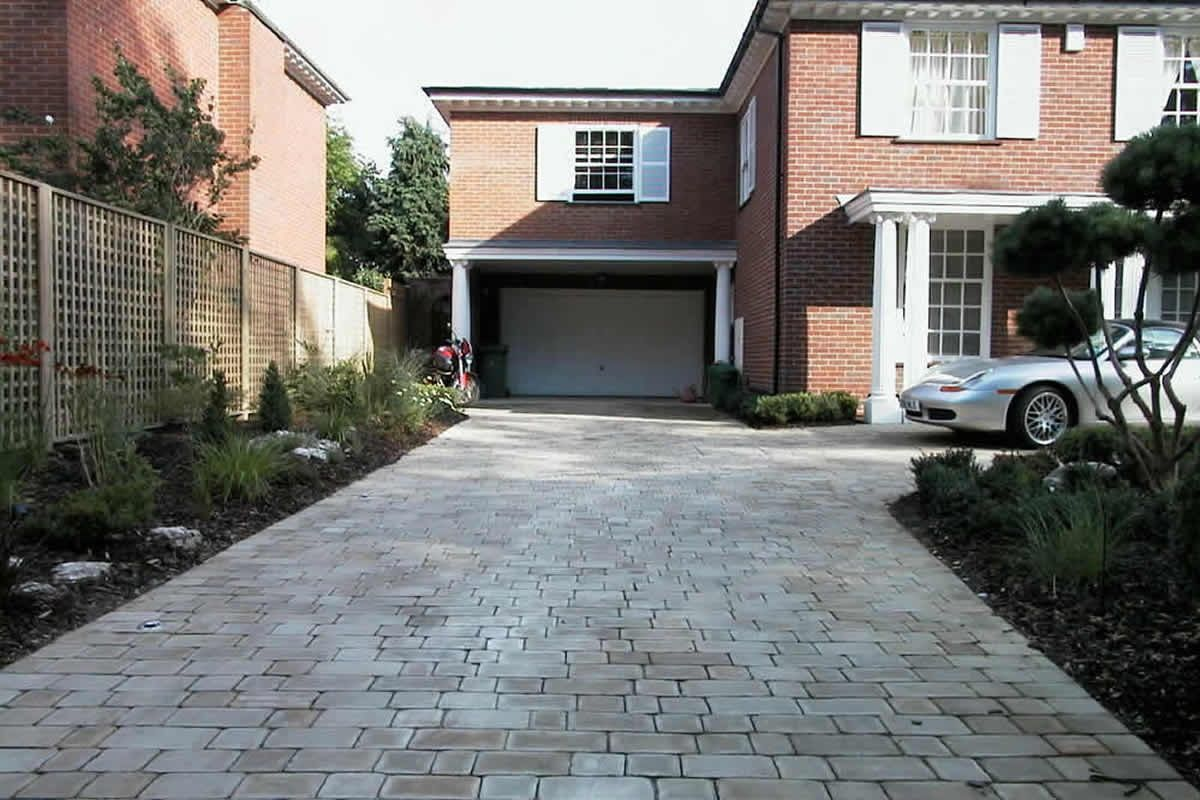 Constructed Driveway